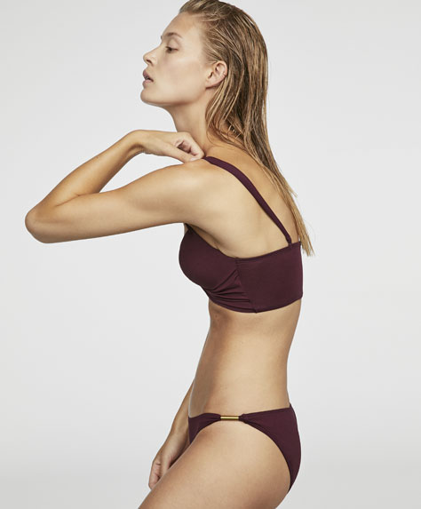 Braguita bikini clásica liso