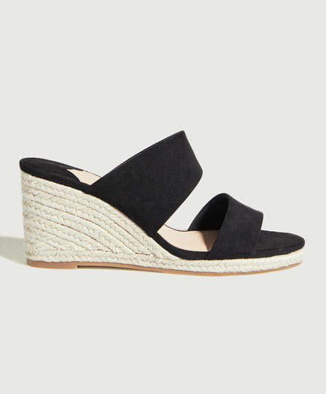 Wedges with asymmetric double straps