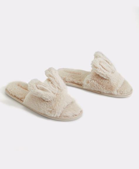 Fersenfreier Schuh in Häschenform