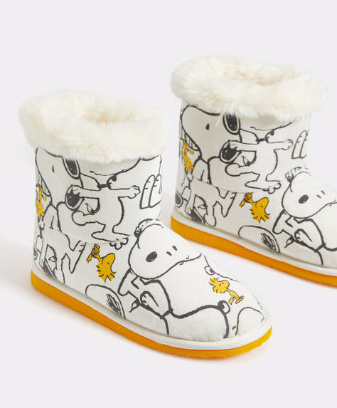 Chaussons bottines Snoopy®