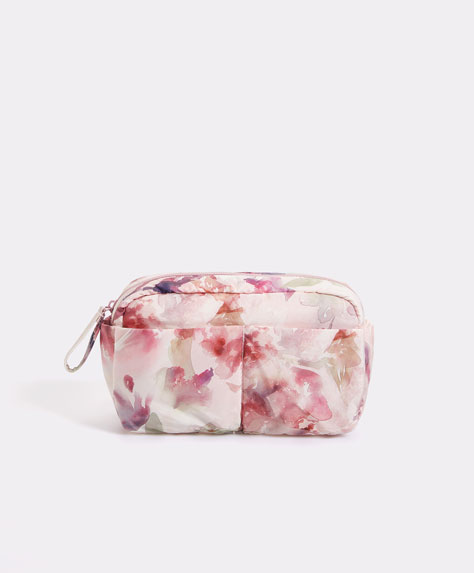 Watercolour flower print case