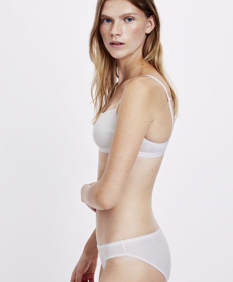 Ribbed cotton classic briefs