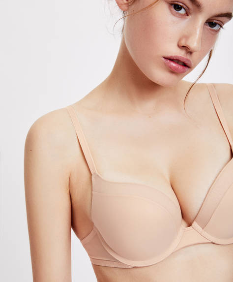 Microfibre extreme push-up bra
