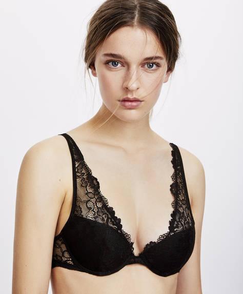 Classic lace bra
