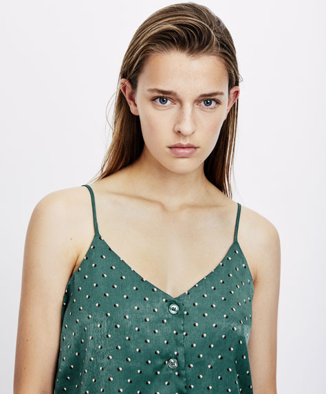 Camiseta green dots