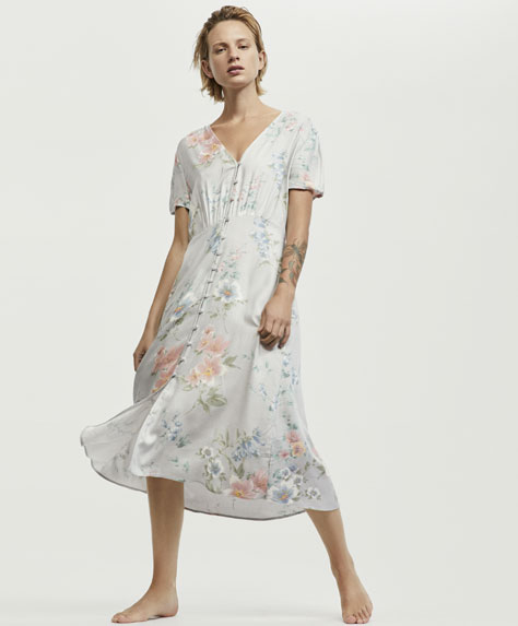 Melissa flower print nightdress