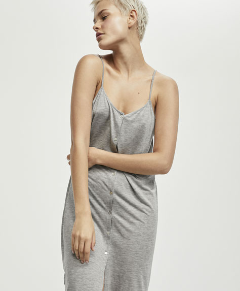 Grey TENCEL® nightdress