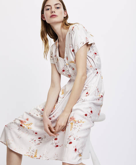 Floral bouquet nightdress