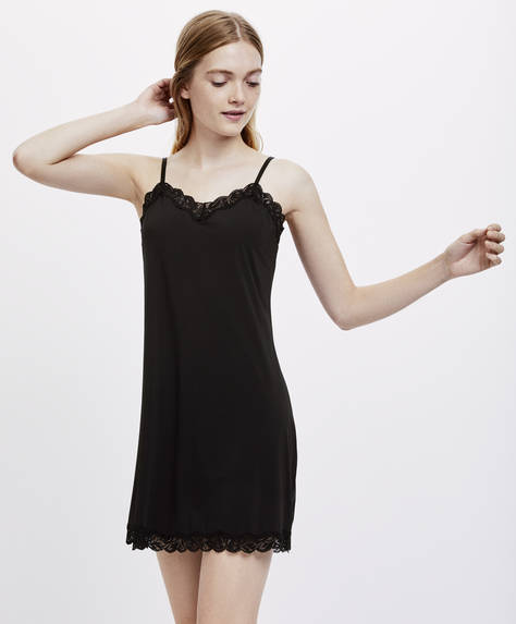 Basic strappy nightdress