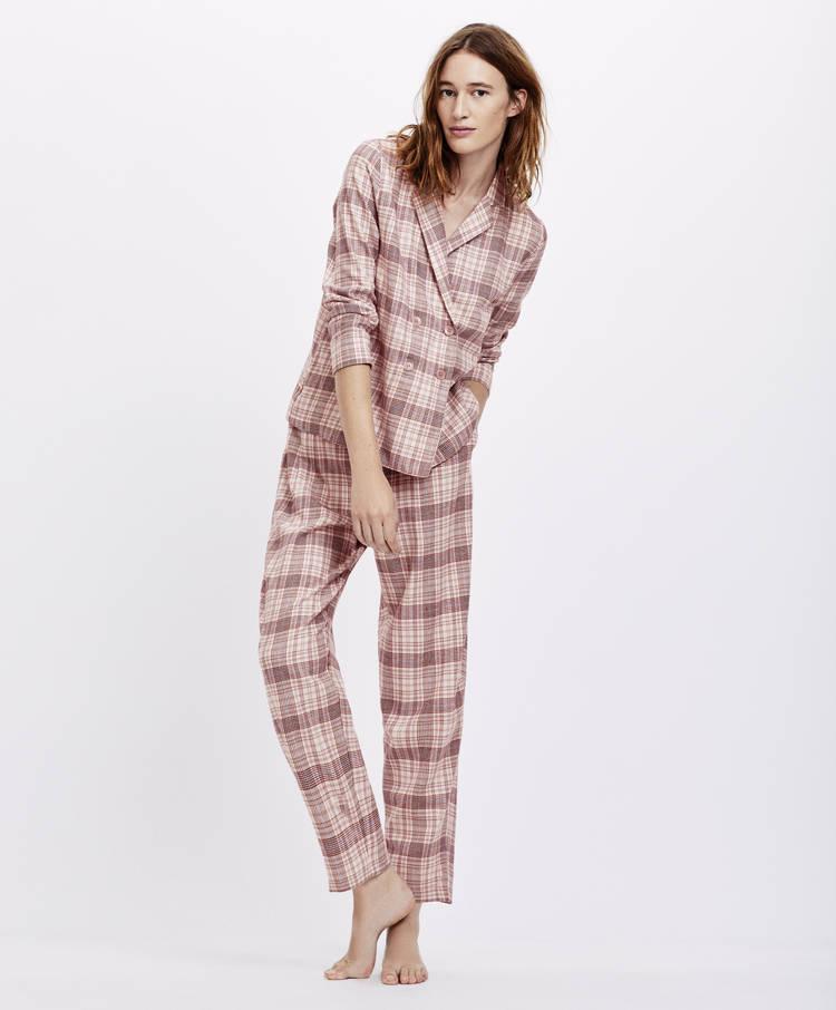 6115d2b90dec Retro check trousers - Bottom Half - Sale - Pyjamas and homewear ...