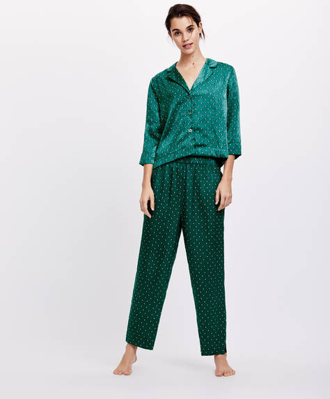 Pantaloni green dots