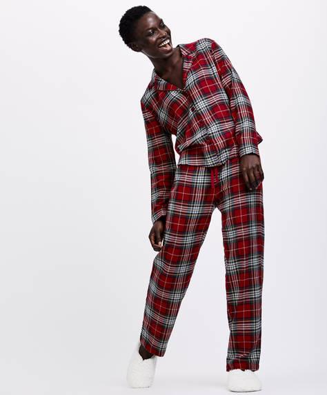 Pantalon carreaux tartan