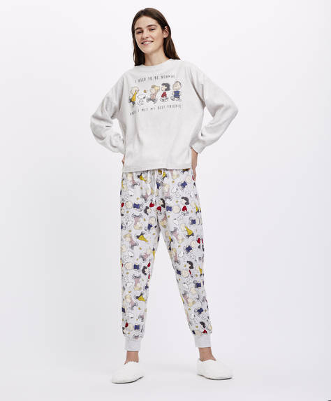 Snoopy and Company trousers