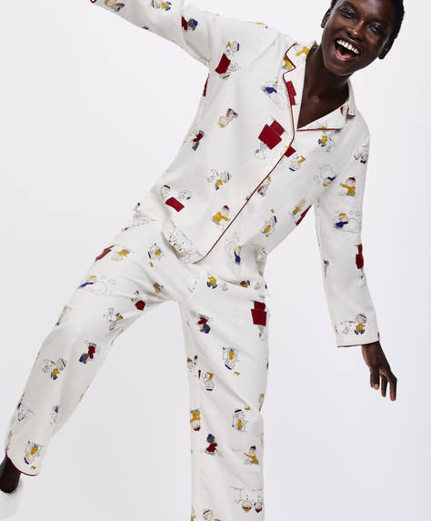 Snoopy® multi-character trousers