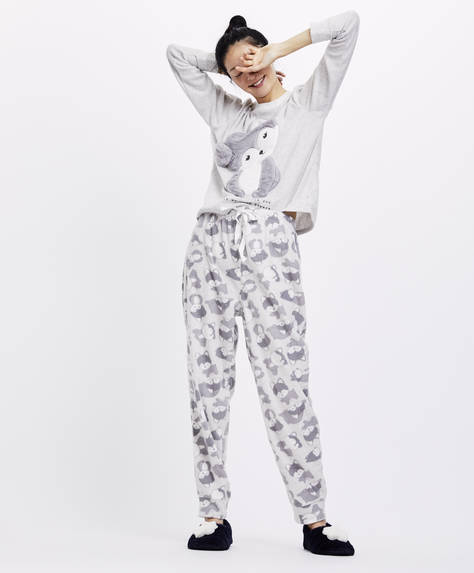 Cute animal trousers