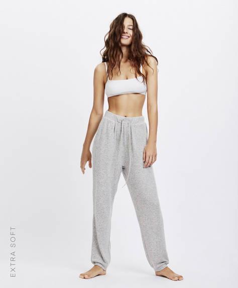 Pantaloni cu buzunare extra soft