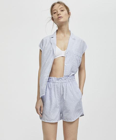 Pantalón corto blue