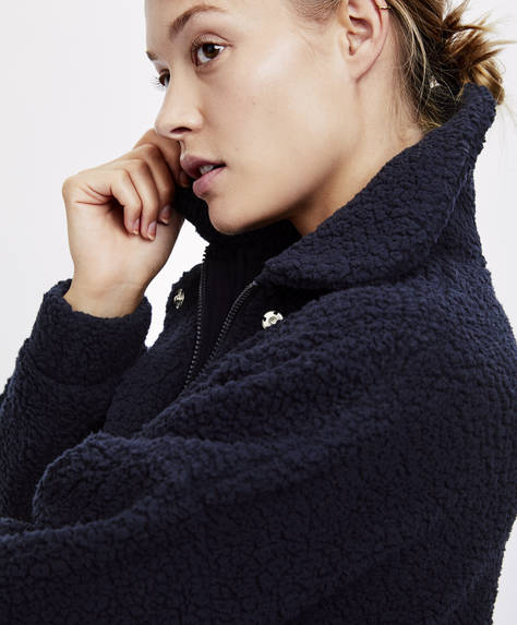 Fleece Jacket by Oysho