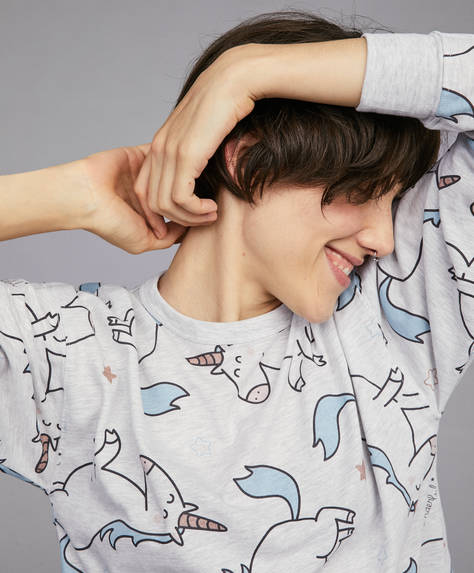 Tricou unicorni Mr. Wonderful®