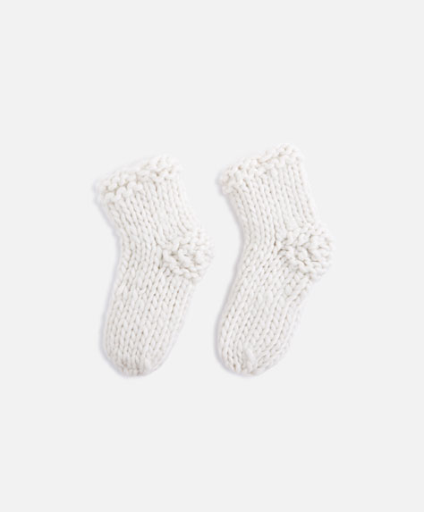 Hand-knitted socks