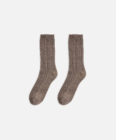 Plain rustic socks