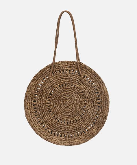Round paper handbag