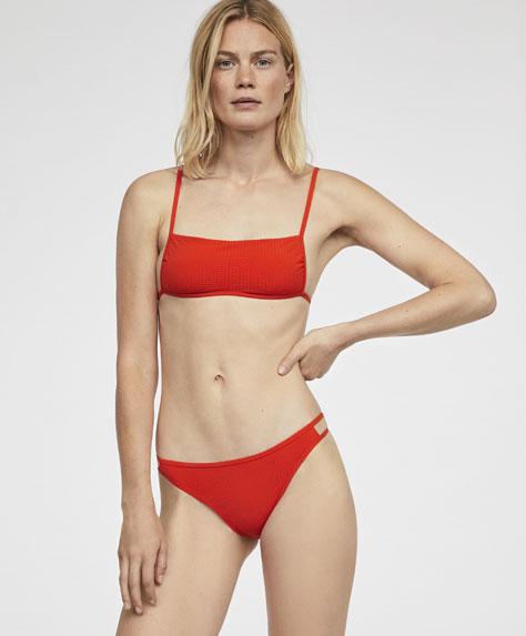 Braguita bikini brasileña lisa