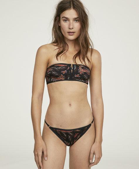Paisley classic bikini bottoms