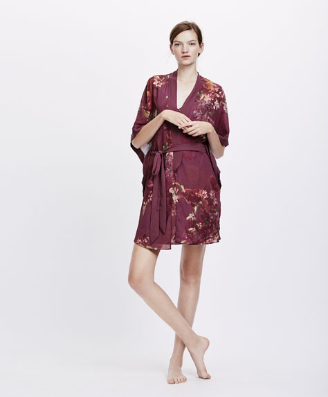 House Robe - PYJAMAS AND HOMEWEAR | OYSHO Switzerland