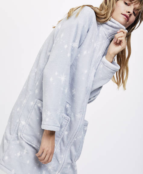 Star bath robe