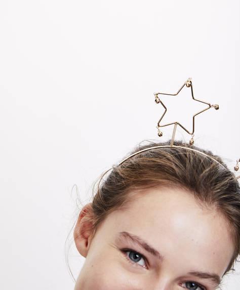 Στέκα μαλλιών με αστέρια