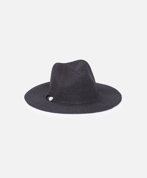 Sombrero básico negro