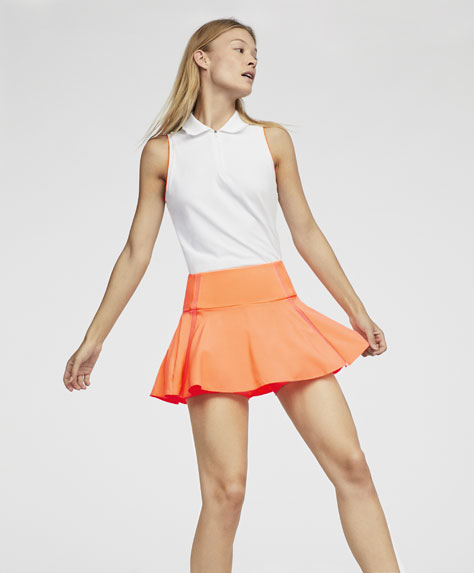 Padel skirt with side detail