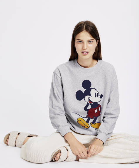 Grå sweatshirt Mickey Mouse®