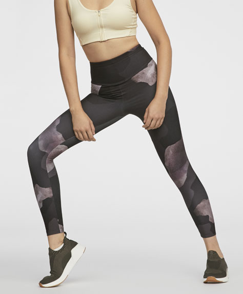 Leggings print camuflaje