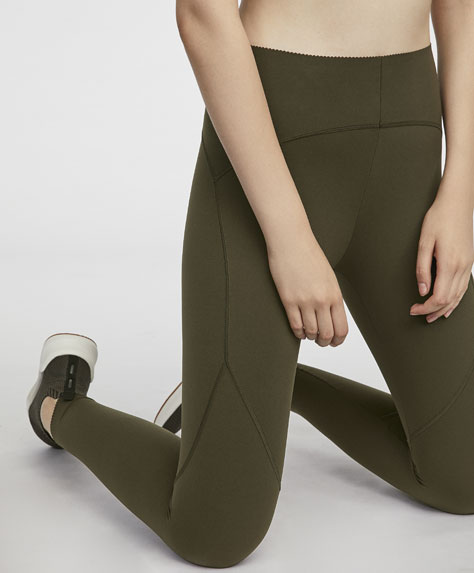 Ankle-length compression leggings