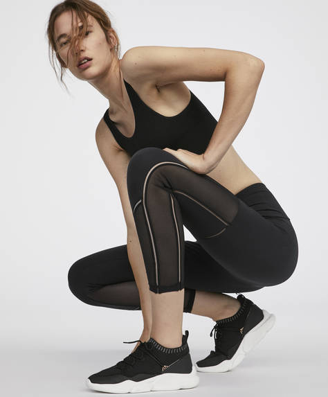 High waist reinforced leggings