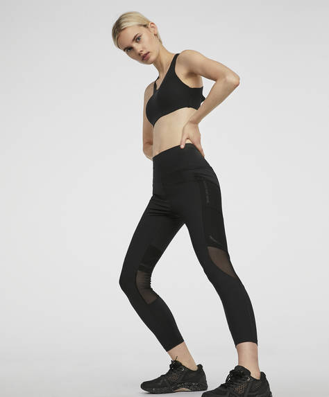 Legging de compression inscription