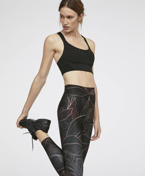 Leggings estampado minimal flowers