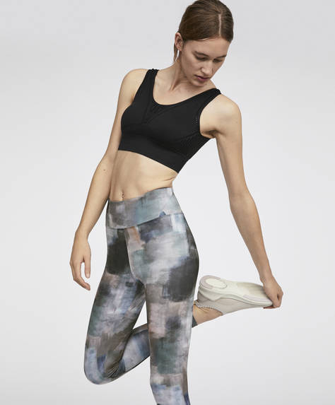 Art print leggings
