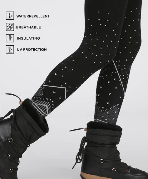 Legging seamless ski