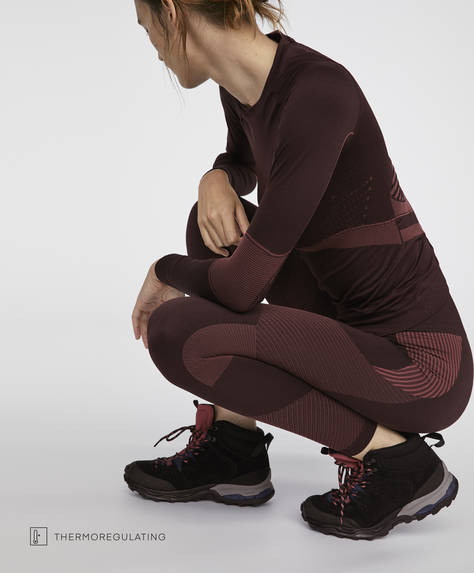 Thermo-regulating fabric leggings