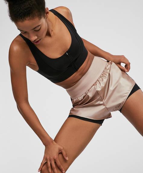 Skinny eband shorts