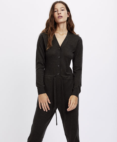 Jumpsuit largo punto
