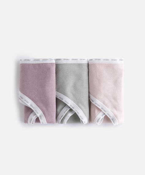 3 classic cotton briefs