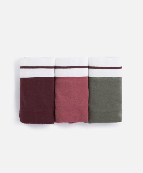 3 plain classic briefs