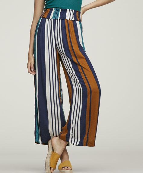 Μακρύ παντελόνι με κάθετες ρίγες