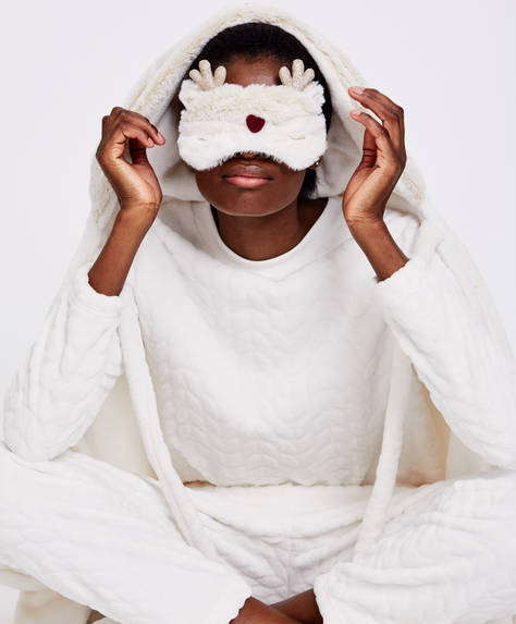 Reindeer eye mask