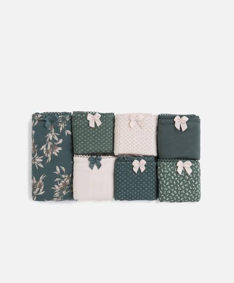 7 classic green briefs