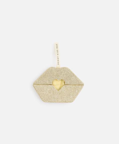 Yellow thong gift box